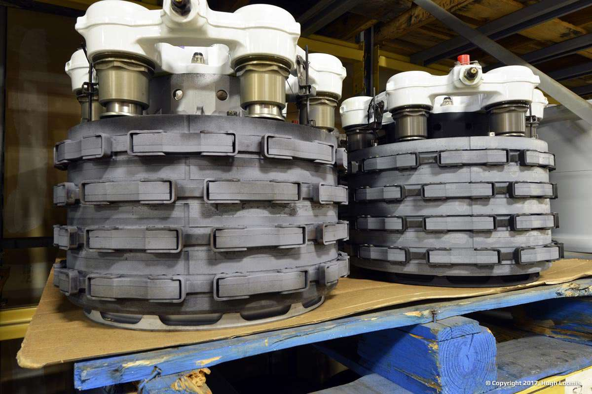 Large inventory of aircraft brakes